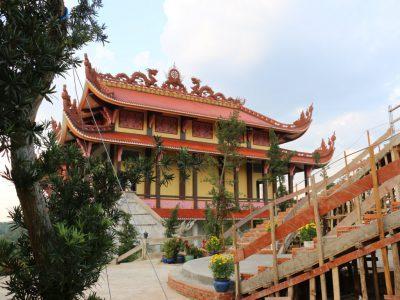 Tiến độ xây dựng Chùa Long Hương đến ngày 03-10-2015