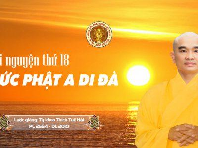 Lời Nguyện Thứ 18 Đức Phật A Di Đà – bản tiếng Việt