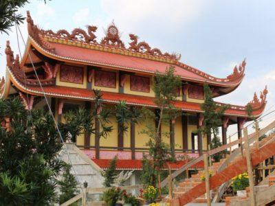 Tiến độ xây dựng Chùa Long Hương đến ngày 1-8-2015
