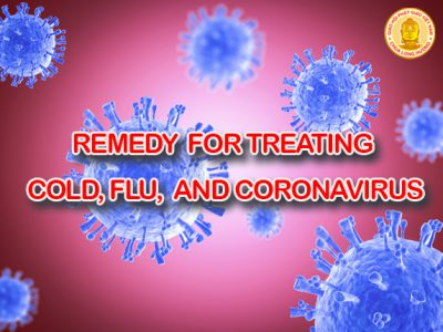 REMEDY FOR TREATING COLD, FLU, AND CORONAVIRUS